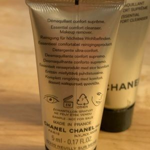 CHANEL Makeup - Chanel sublimage essential comfort cleanser